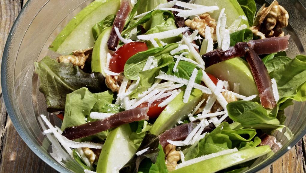 ricetta insalata con speck e mela verde