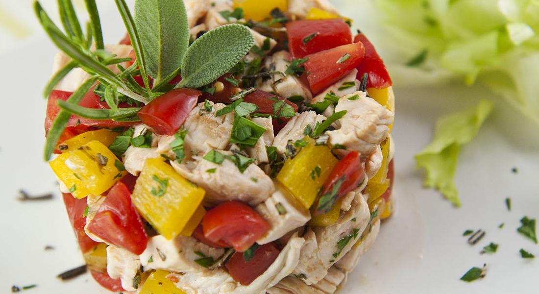 ricetta insalata di tacchino marinato