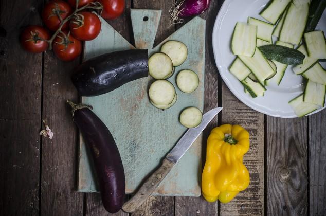 ricetta per l'insalata di tofu step due
