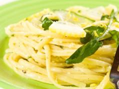 la ricetta per preparare le linguine al limone