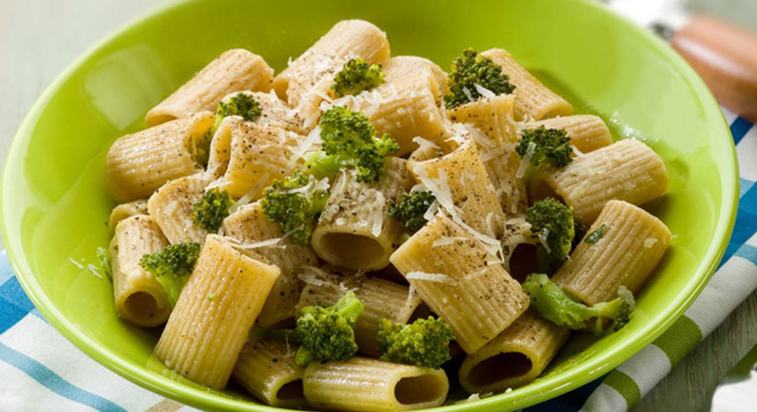 ricetta pasta maccheroni con broccoli gratinati