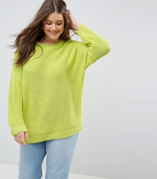 ASOS CURVE - Maglione grosso oversize