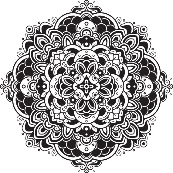 mandala da colorare