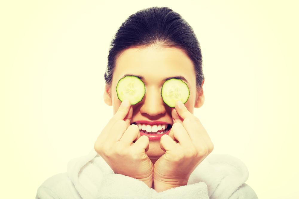 maschera fai da te con alimenti