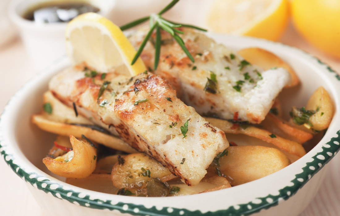 ricette con patate : merluzzo