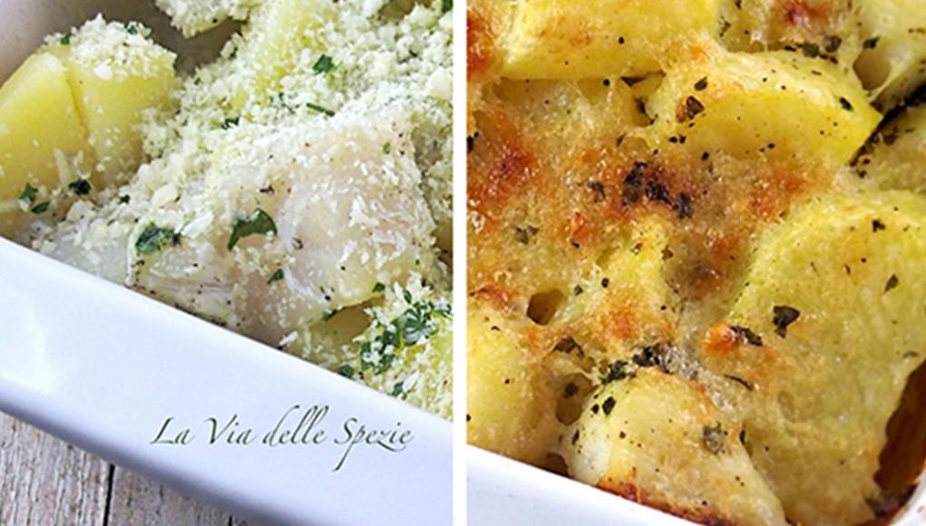 ricetta merluzzo gratinato con le patate
