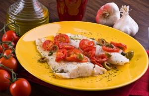 ricetta merluzzo al pomodoro
