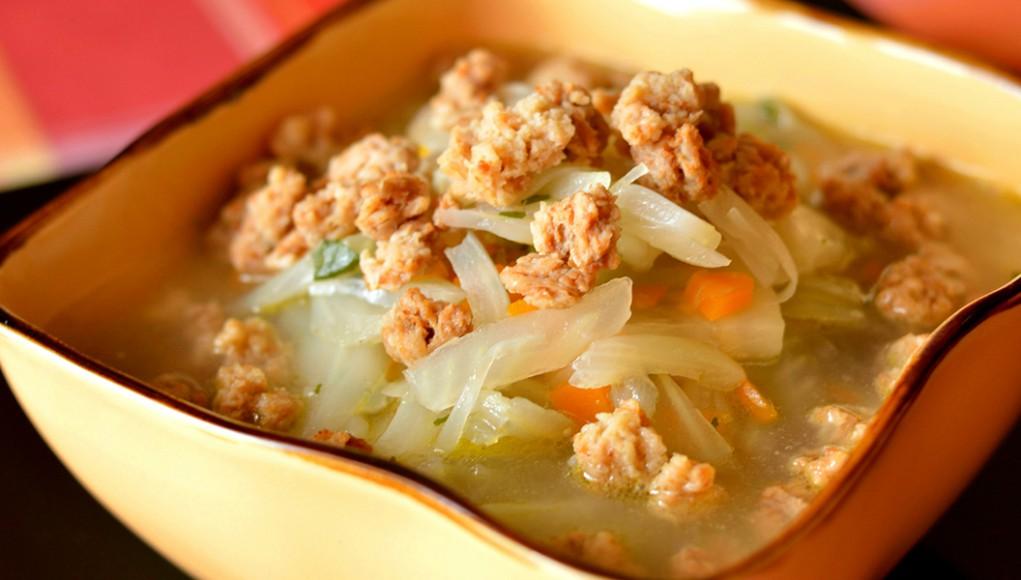 la ricetta per preparare il minestrone di finocchi con bocconcini di soia