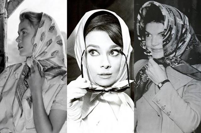 come indossare un foulard