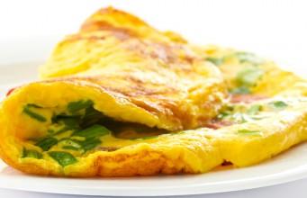 la ricetta dell'omelette di cipolle