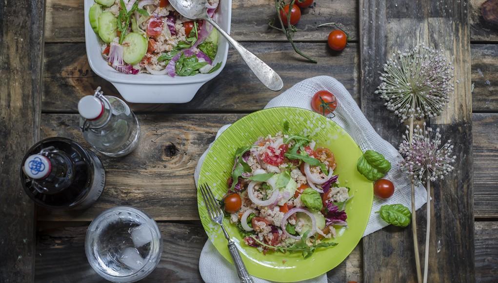 ricetta panzanella di verdure