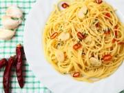 la ricetta della pasta aglio olio e peperoncino