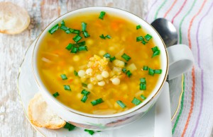 la ricetta pasta con le lenticchie con carote e sedano