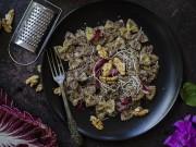 Pesto con radicchio e noci