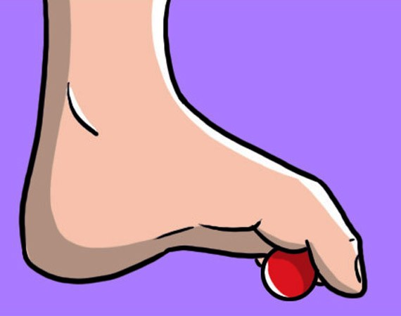 piedi piatti rafforza le caviglie con il massaggio plantare