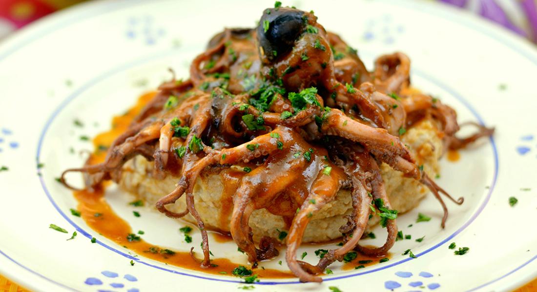 ricetta polenta di avena con olive nere