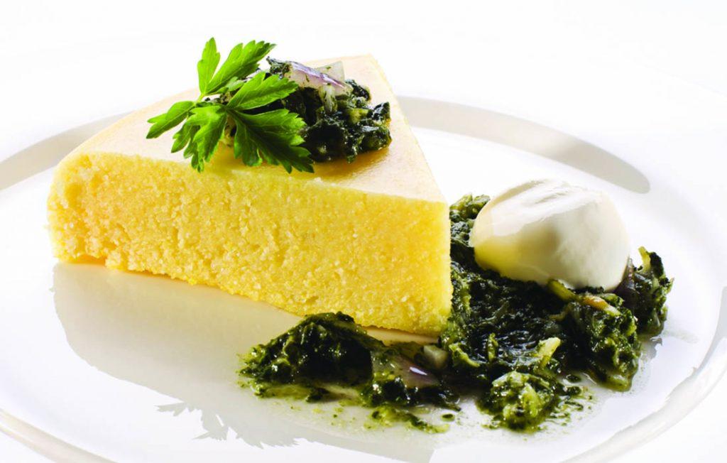 ricetta polenta con cavolo nero e verza