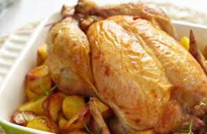 ricetta pollo con patate al forno