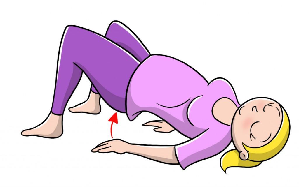 esercizi gambe e glutei per tornare in forma