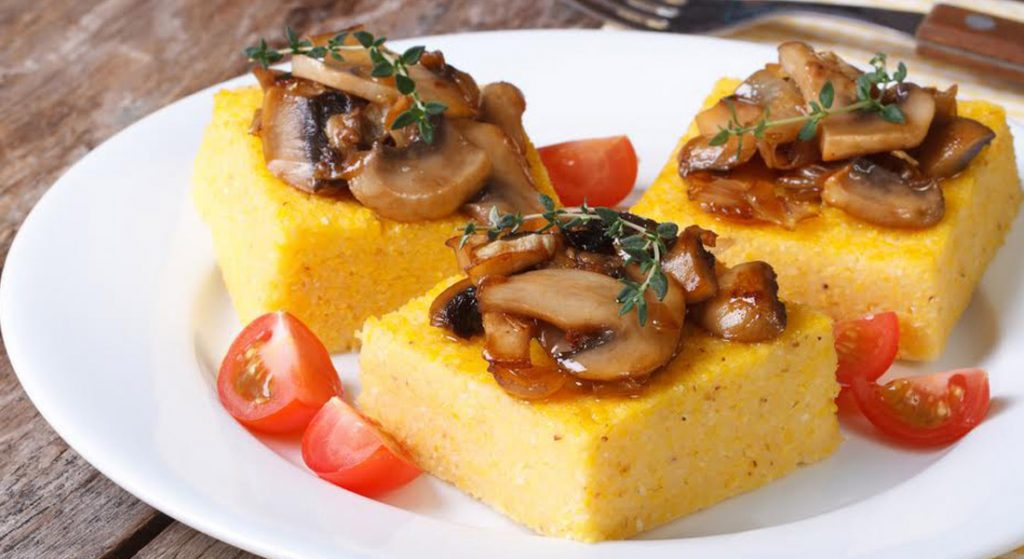 crostini di polenta