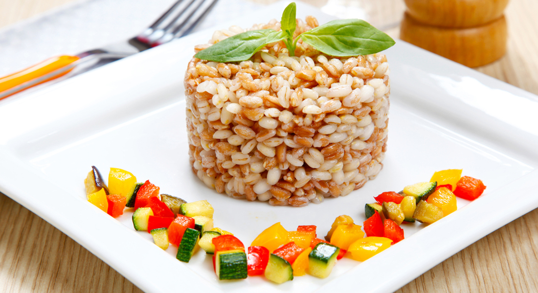 ricetta farro con zucchine