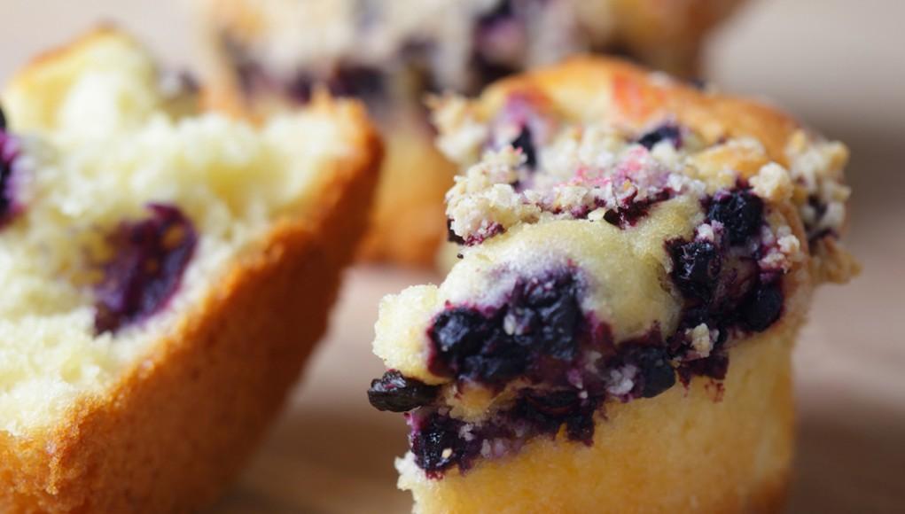 ricetta tortino ai mirtilli