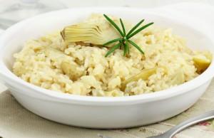 la ricetta per preparare il riso ai carciofi contro il colesterolo