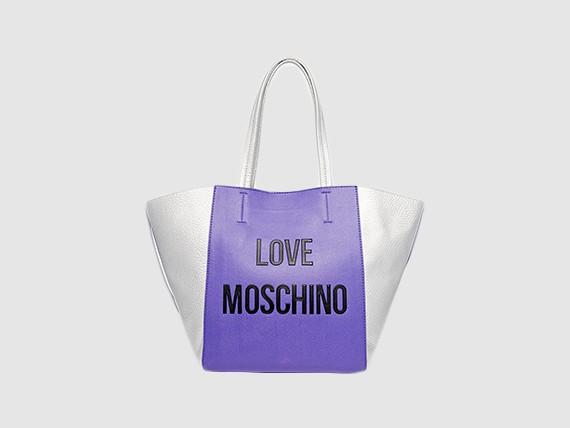 borsa shopper di moschino