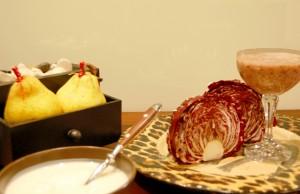 prova lo smoothie con pere, radicchio e miele fatto da melarossa