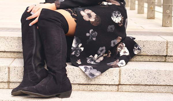 stivali e polpaccio, l'eterno dilemma