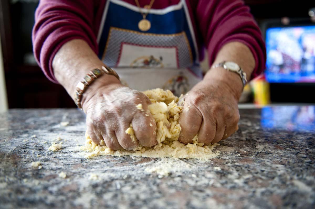 prepara i tagliolini fatti in casa fase 2