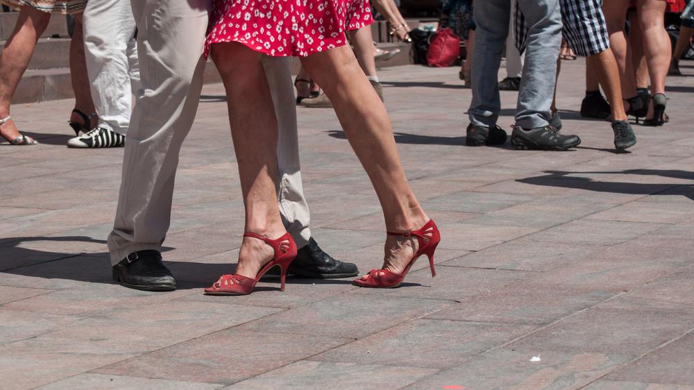 il tango è ottimo per tonificare corpo