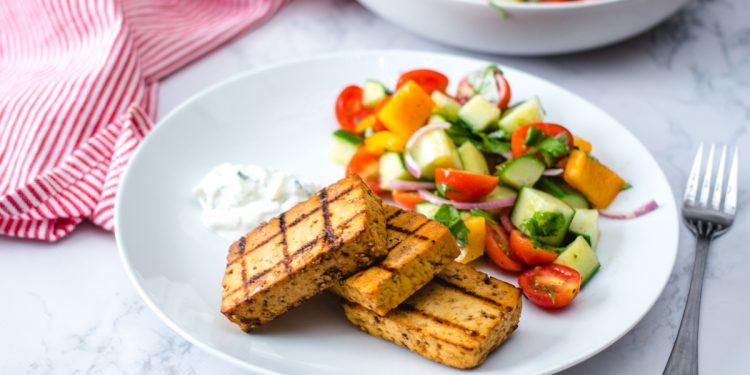 Tofu al marsala, un secondo piatto vegetariano