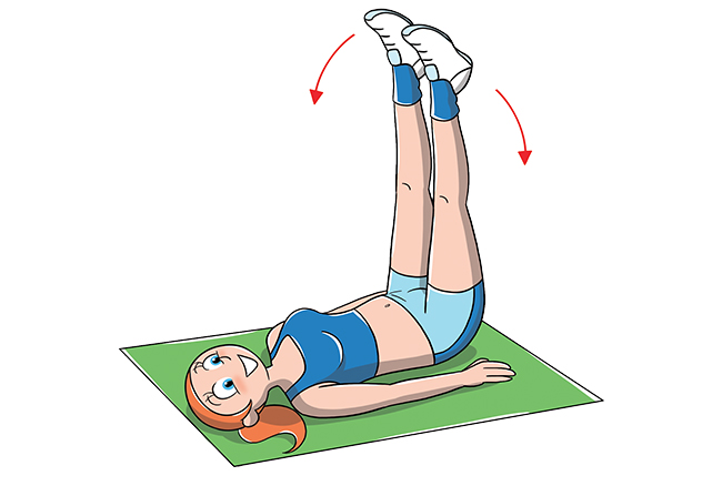 Esercizio apertura gambe per cosce toniche