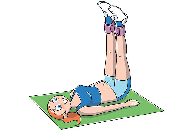 esercizi per interno coscia con cavigliere