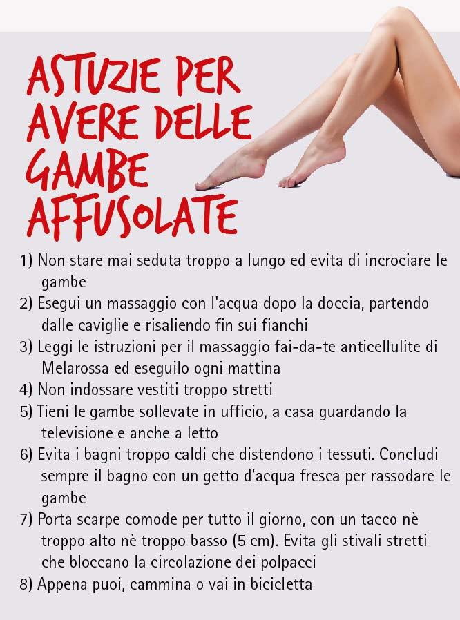I Consigli Per Avere Belle Gambe Melarossa