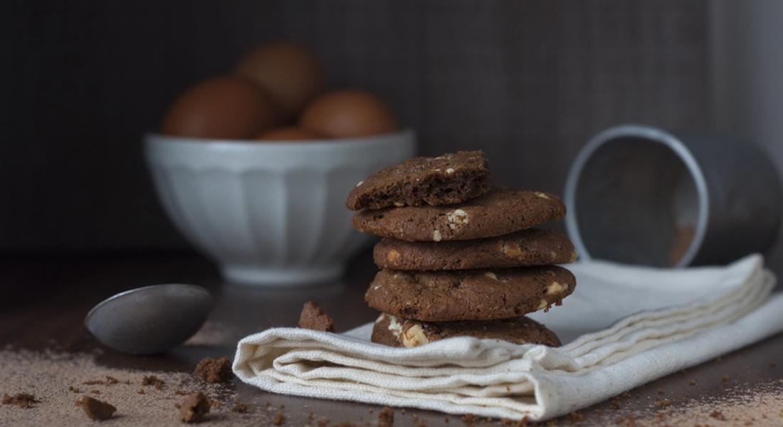 ricette con le  castagne: biscotti