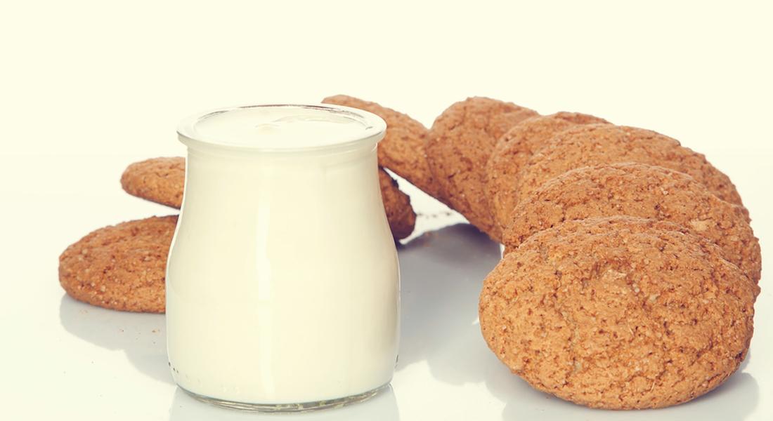 Ricetta biscotti integrali allo yogurt con zucchero di canna