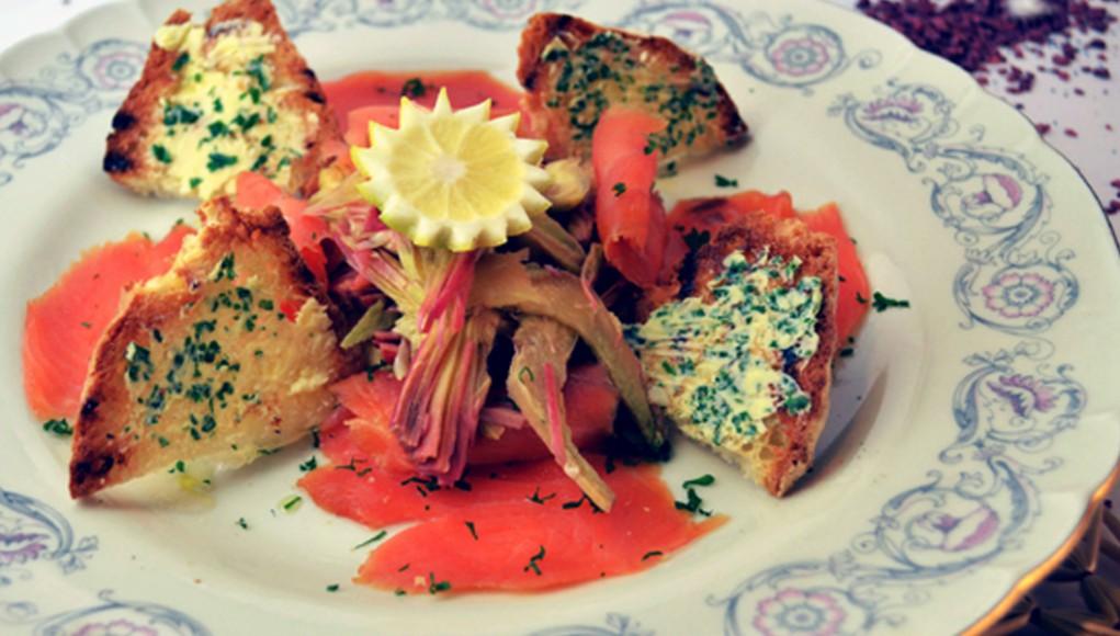 ricetta anti colesterolo carpaccio di carciofi