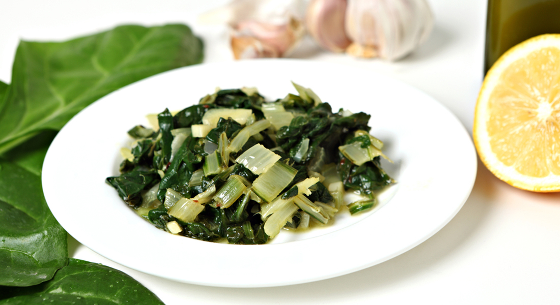ricetta spinaci all'agro