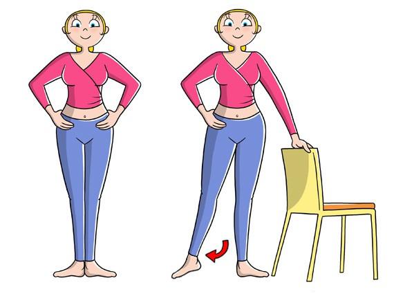 danza base per tonificare gambe