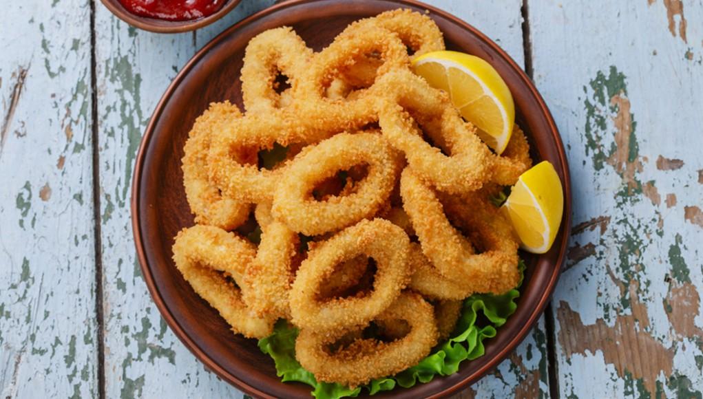 ricetta fritto light di calamari