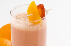 ricetta smoothie di fragole e arance