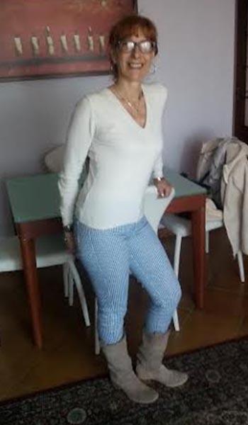 Giuseppina dopo la dieta