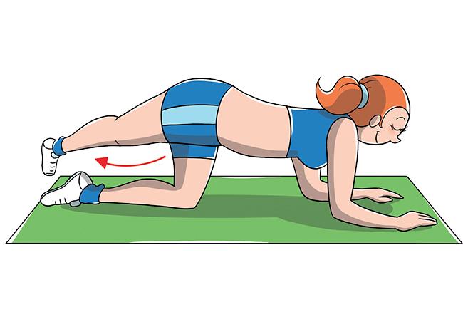 Incrociare le gambe aiuta a rassodare interno coscia