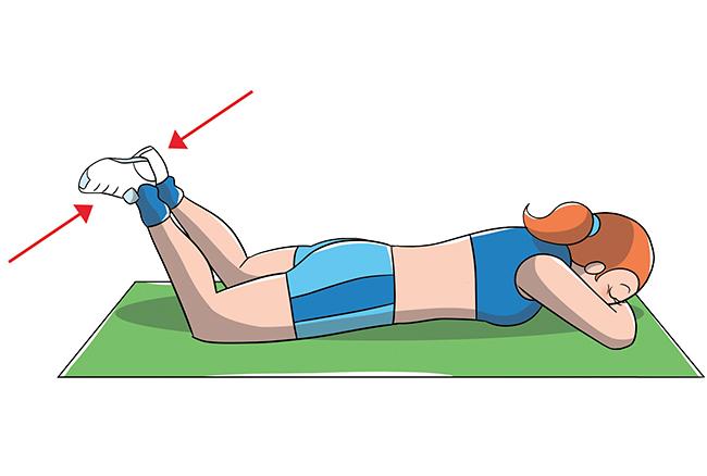 Esercizio per muscoli coscia tonici
