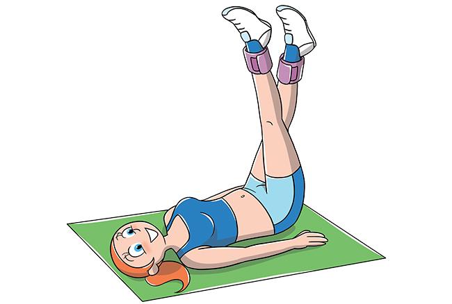 Sequenza di esercizi per interno coscia