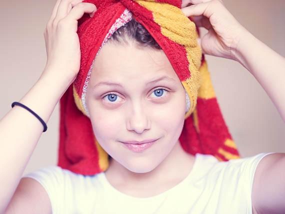 non uscire con i capelli umidi