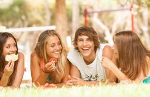 come gestire il peso che aumenta durante l'adolescenza