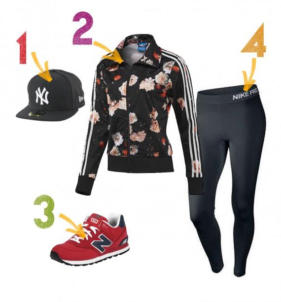 l'outifit sportivo perfetto se sei fashion